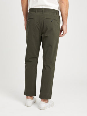 DARK OLIVE pants for men niles trouser ons clothing