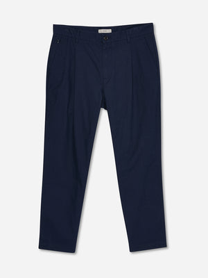 NAVY pleated pants for men niles cotton trouser by ons clothing