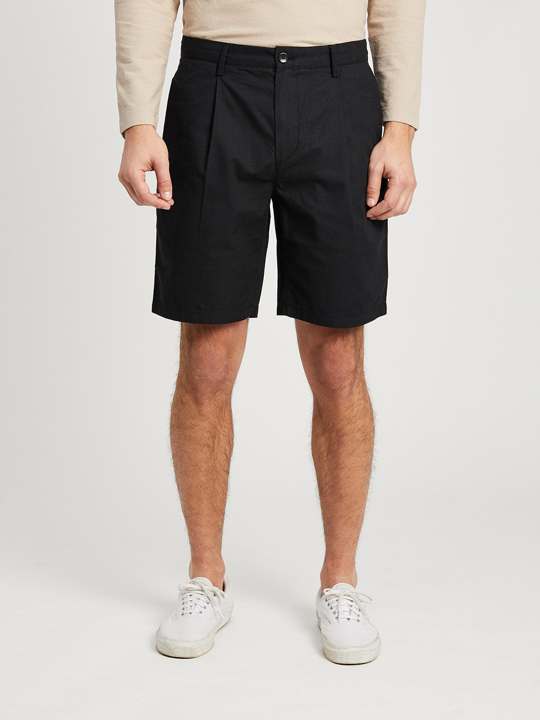 JET BLACK shorts for men modern shorts ons clothing