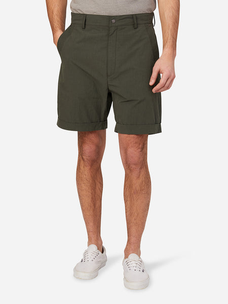 DARK OLIVE mens shorts devon shorts ons clothing