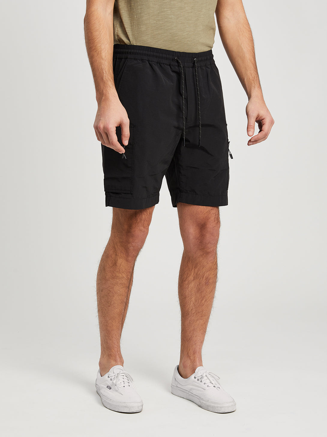 JET BLACK shorts for men marlo shorts ons clothing