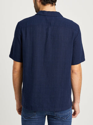 NAVY shirts for men rockaway lightweight jacquard ons clothing