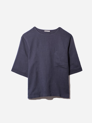 NAVY t shirts for men baseile pocket tee ons clothing