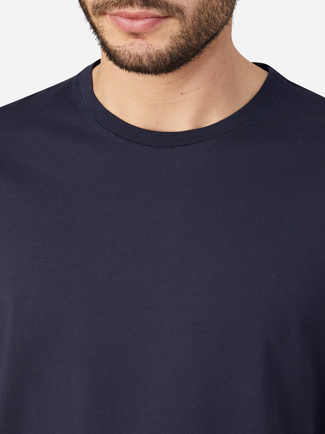 NAVY t shirts for men village crew neck tee ons clothing