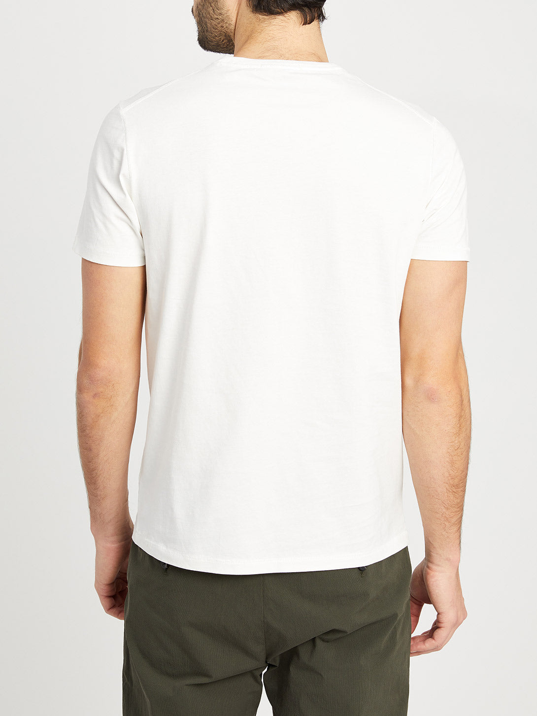 WHITE t shirts for men village crew neck tee ons clothing