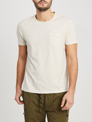 OFF WHITE t shirts for men bowery pocket tee ons clothing