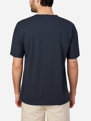 NAVY short sleeve t-shirt for men reno crew neck tee by ons clothing