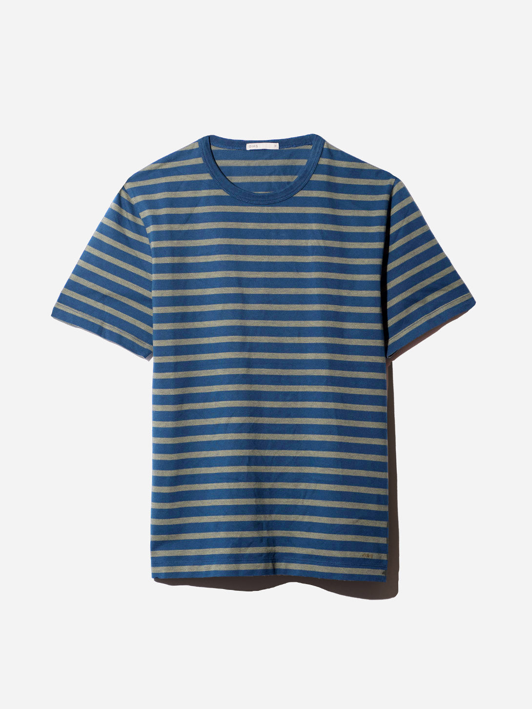 NAVY STRIPE t shirts for men calden crew neck tee ons clothing