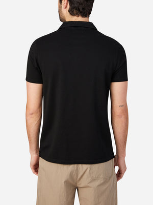 JET BLACK mens t shirts polo colby tee ons clothing