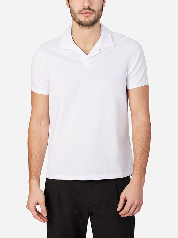 WHITE mens t shirts polo colby tee ons clothing
