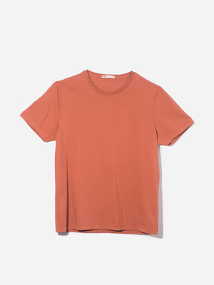 ORANGE t shirts for men village crew neck tee ons clothing