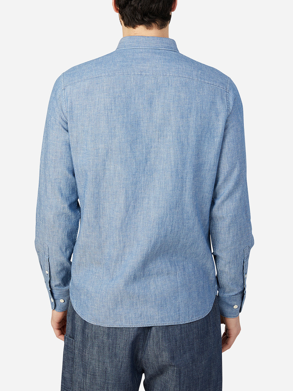 LIGHT INDIGO FULTON SHIRT ONS