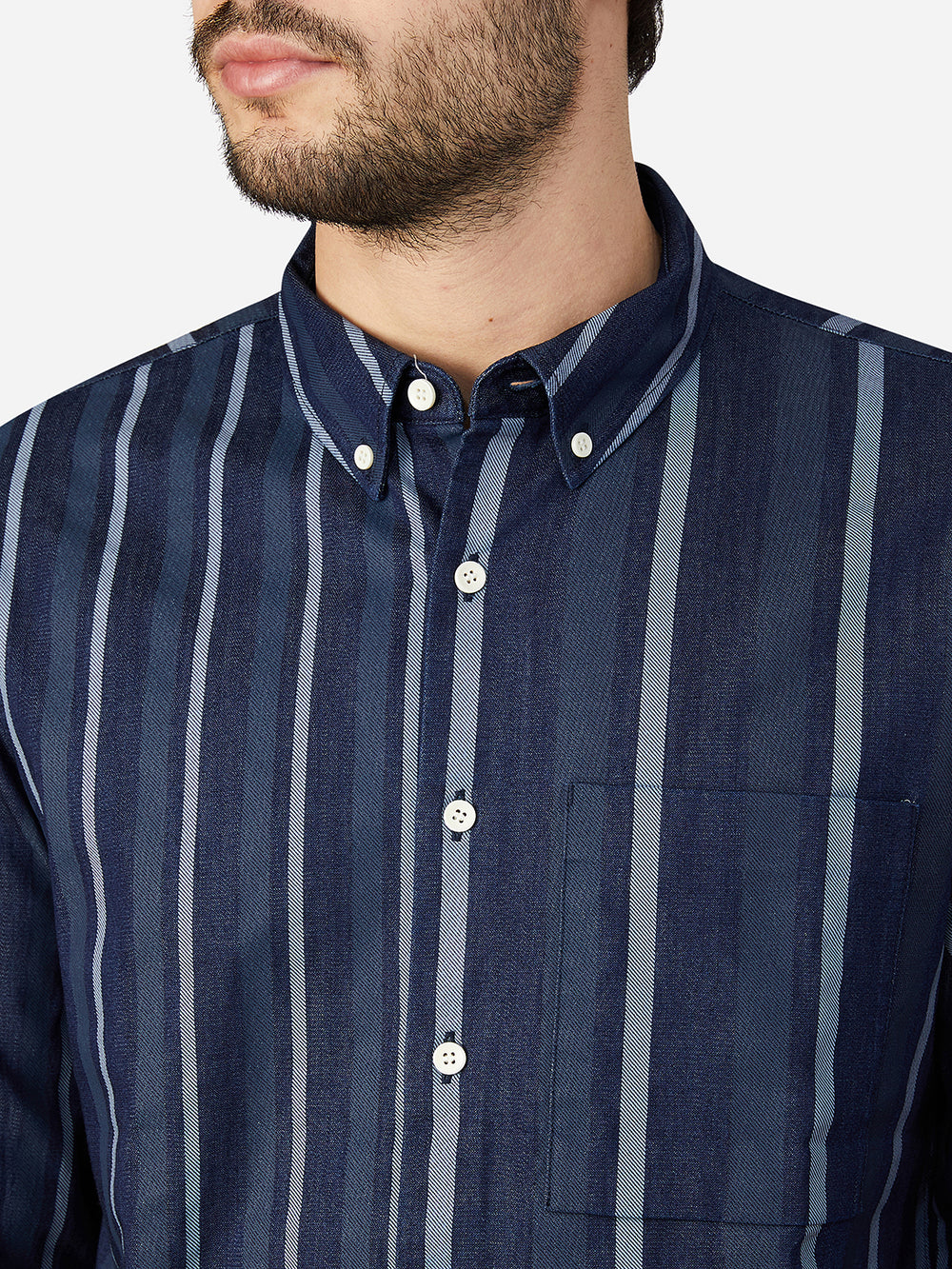 INDIGO QUINCY SHIRT ONS Clothing Indigo Capsule