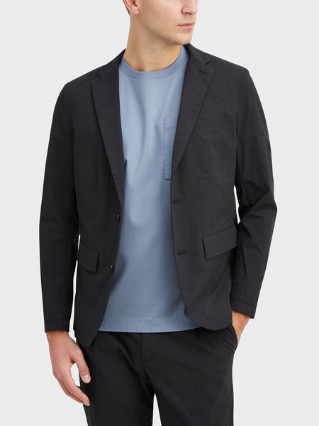 Black Conduit Packable Blazer Men's cotton blazers ONS Clothing