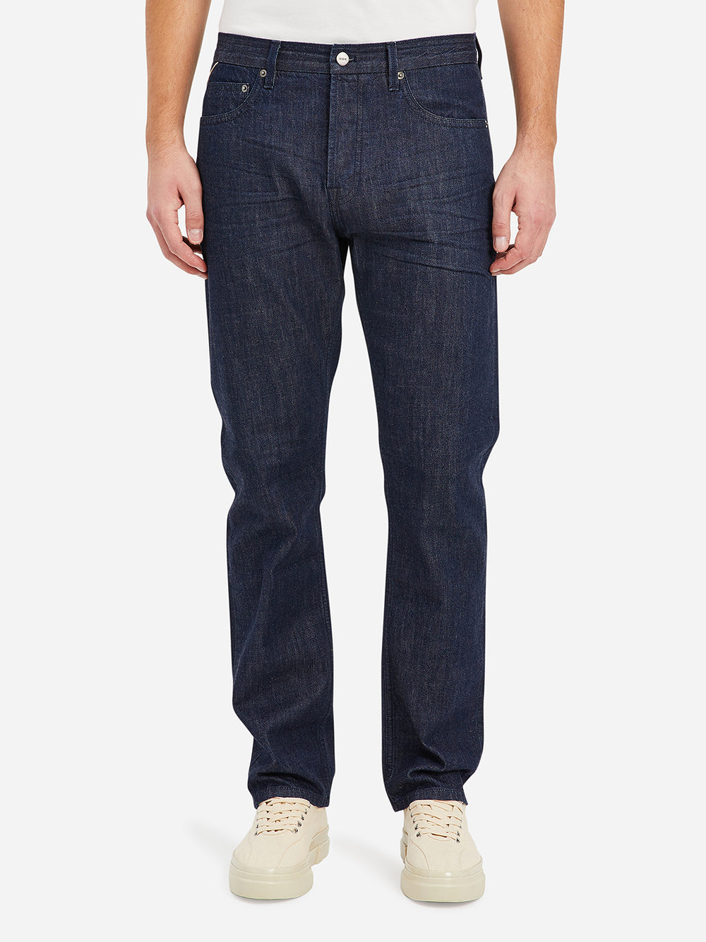 Dark Indigo Denim Missions Men's cotton pants ONS Clothing