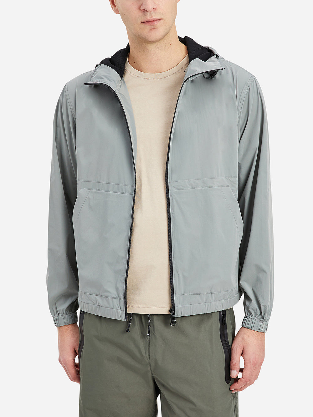 ONS Clothing Men's Lanier Hooded Jacket in Seagrass Green