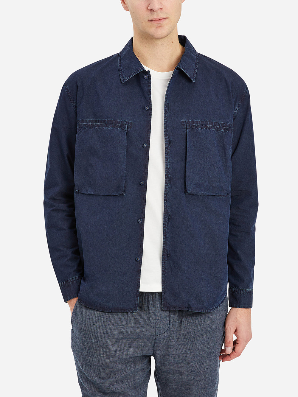 Indigo Corsa Indigo Shirt Jacket Men's cotton jackets ONS Clothing
