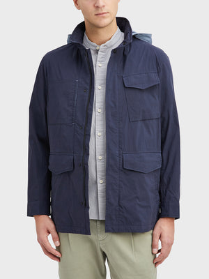 Navy Julian M65 Jacket Men's cotton jackets ONS Clothing