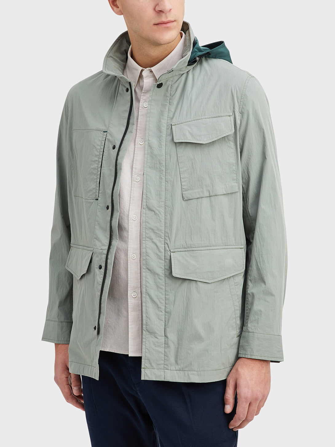 Seagrass Green Julian M65 Jacket Men's cotton jackets ONS Clothing