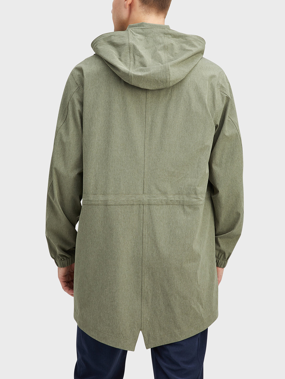 Green Heather Mariner Parka Men's polyester jackets ONS Clothing