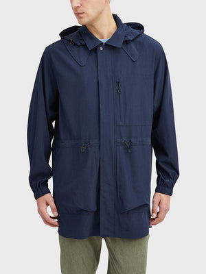 Navy Heather Mariner Parka Men's polyester jackets ONS Clothing
