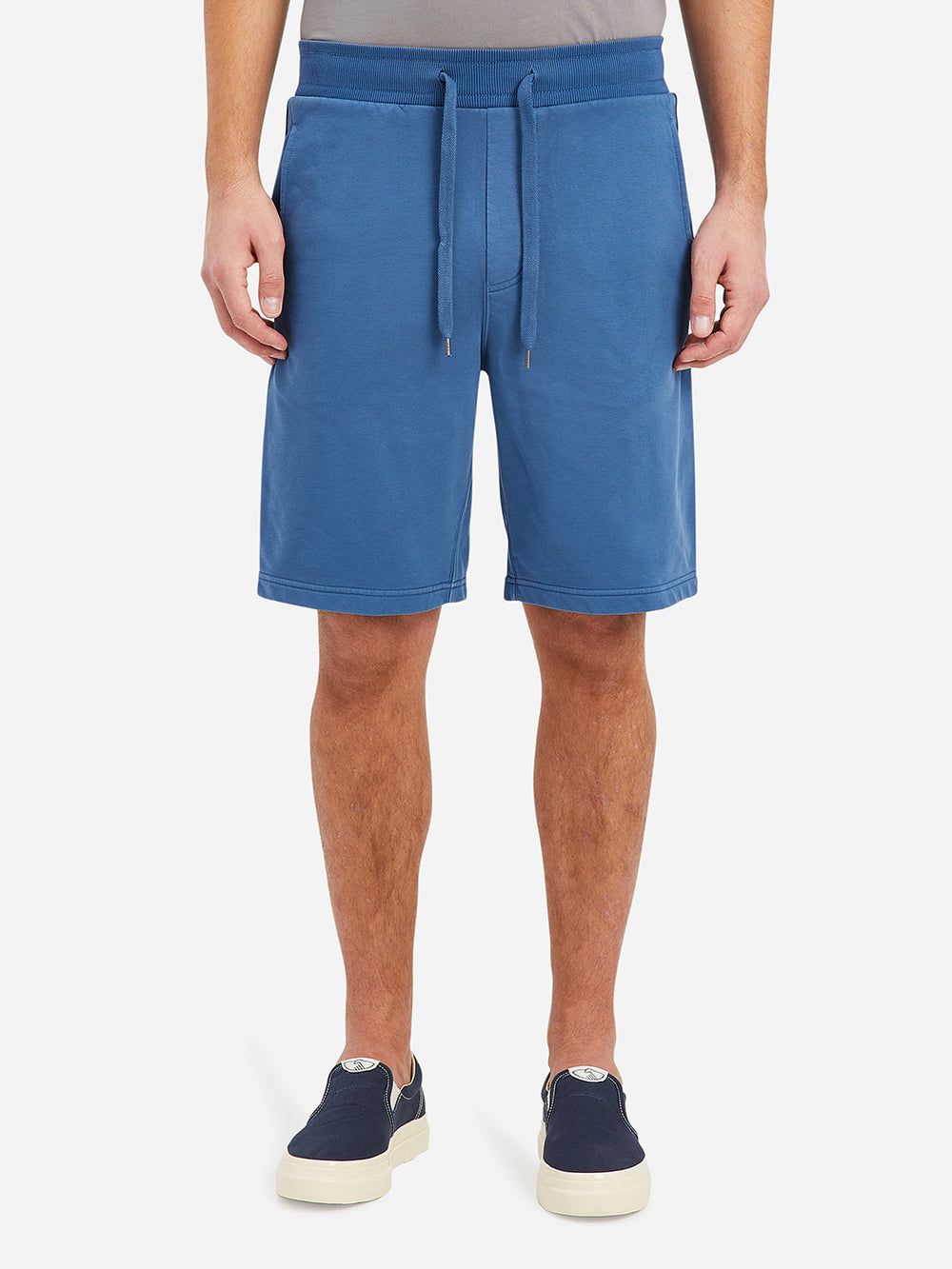 Ensign Blue Eze French Terry Shorts Men's cotton shorts ONS Clothing