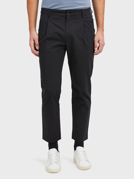 Black Niles Trouser Men's cotton pants ONS Clothing