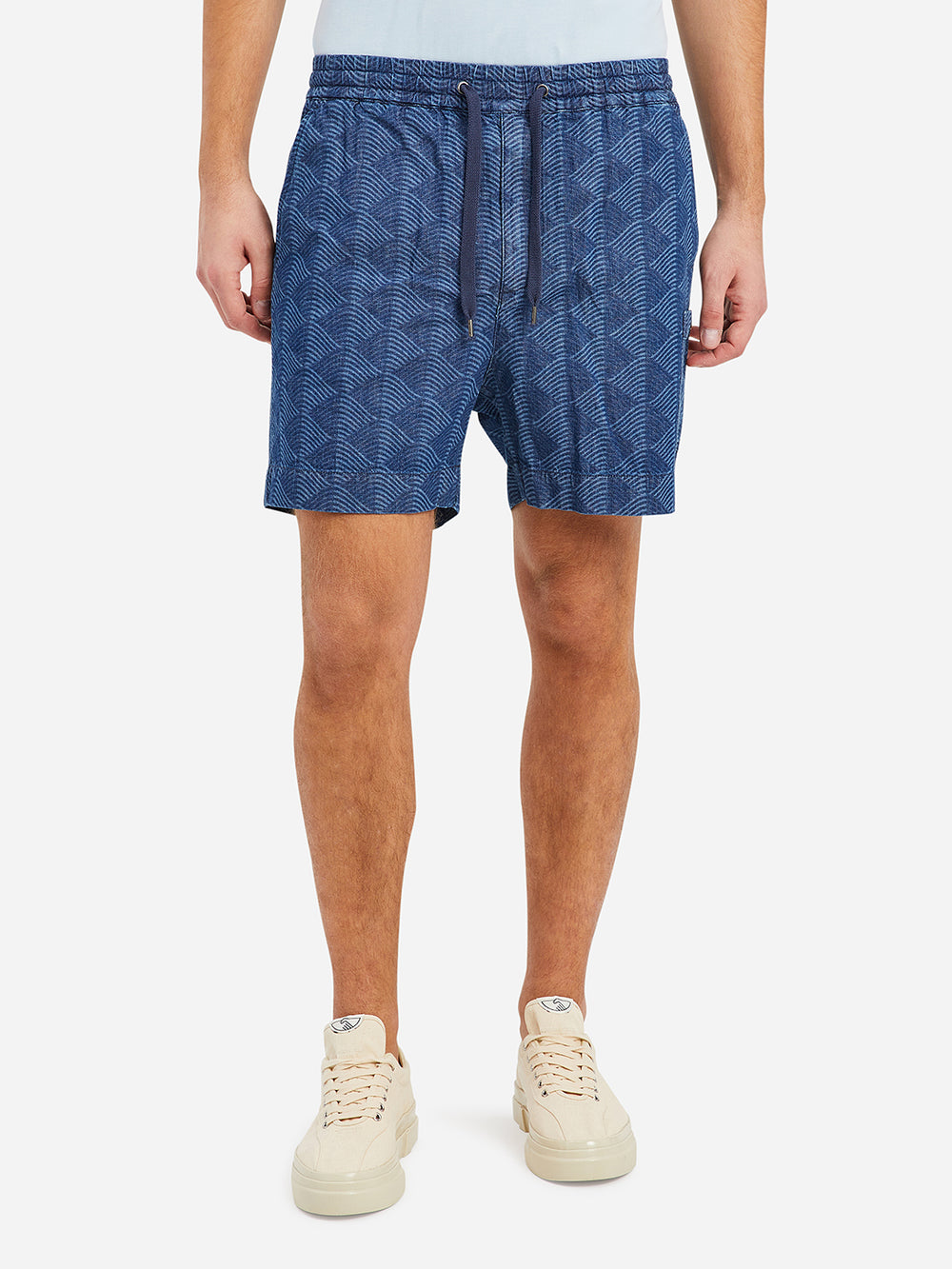 Indigo Indigo Pattern Marlo Short Men's cotton shorts ONS Clothing