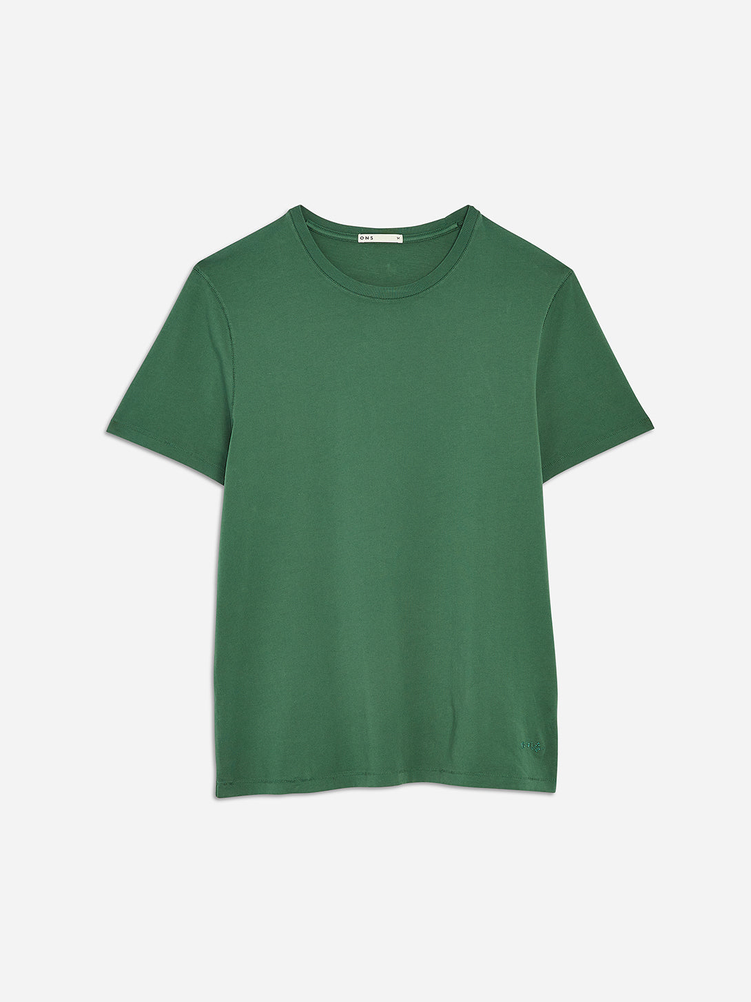 Green Pastures Village Crew Neck Tee Men's supima cotton tees ONS Clothing