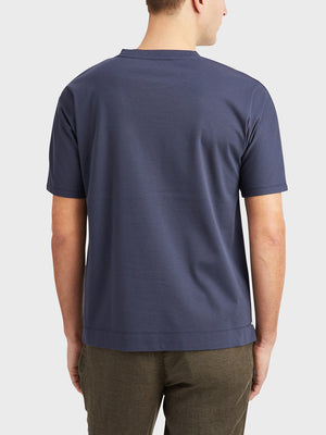 Navy Reno Crew Neck Tee Men's cotton t-shirts ONS Clothing