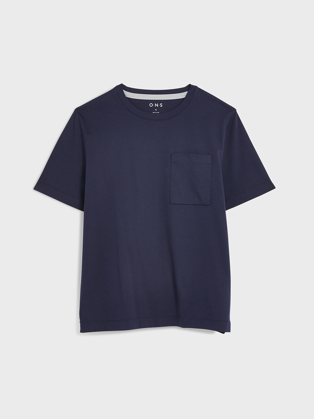 Navy Baseile Pocket Tee Men's cotton t-shirts ONS Clothing