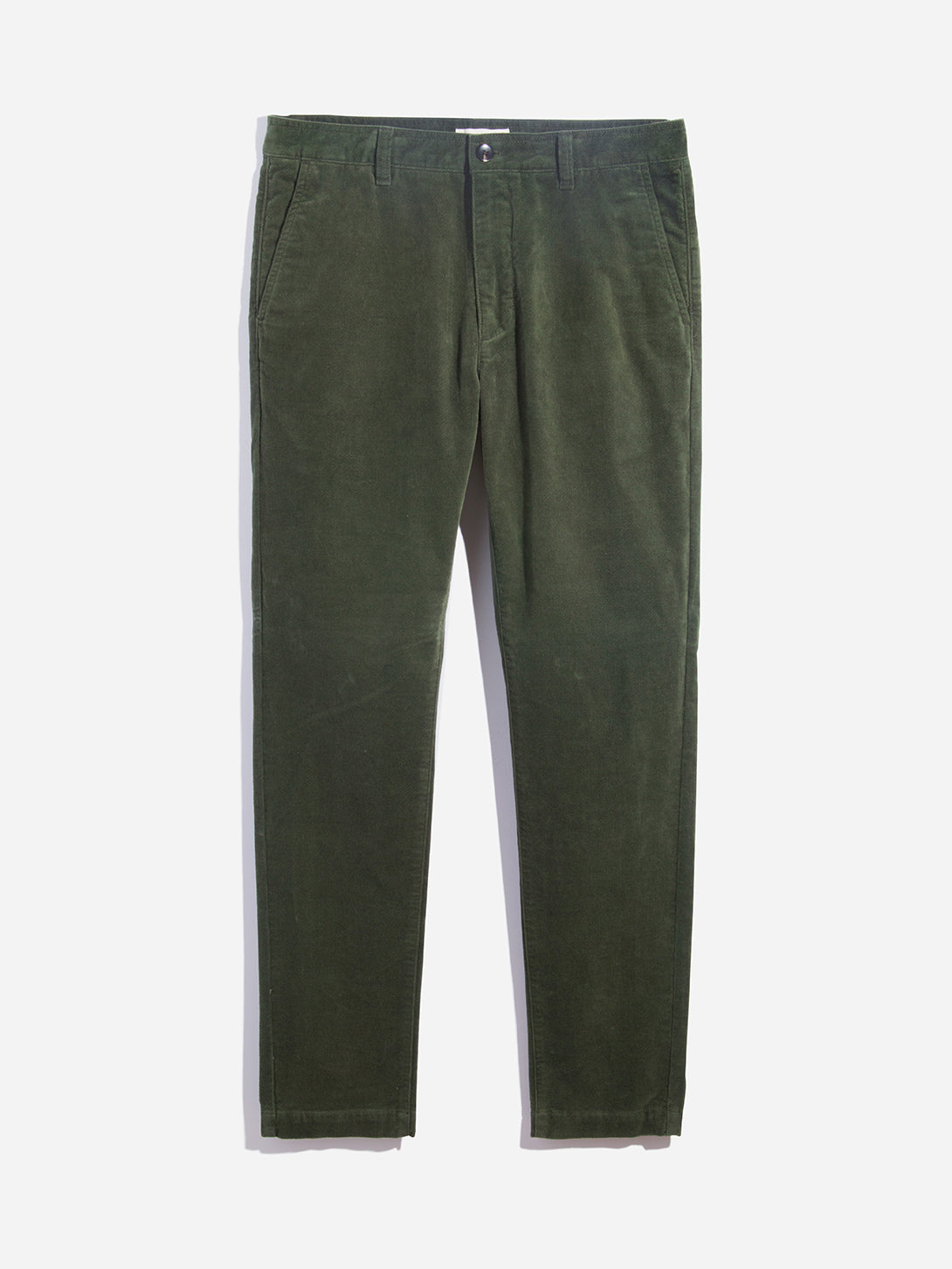 DARK OLIVE GREEN mens chino pants modern chino ons clothing