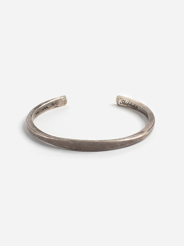 STERLING SILVER - PATINA cuff for men and women by Studebaker Metals