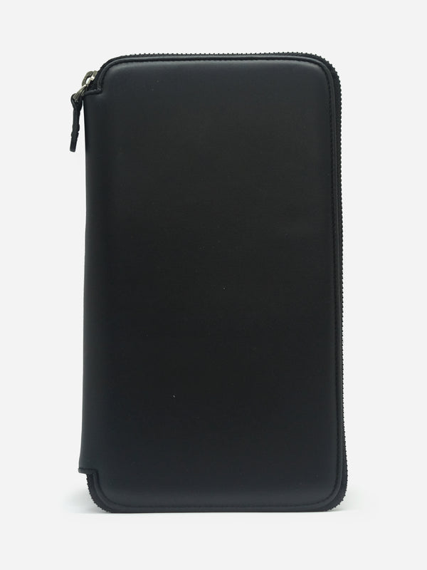 BLACK TRAVELING WALLET