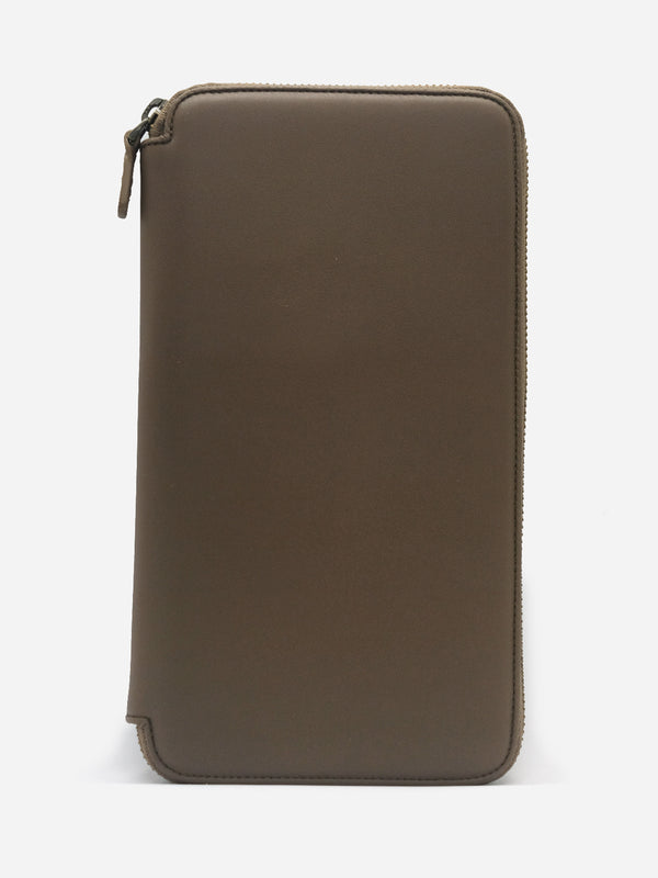 KHAKI TRAVELING WALLET