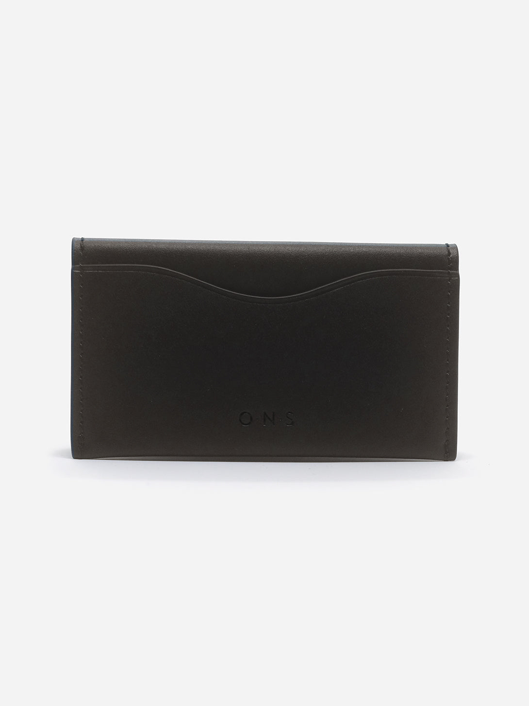 LT BROWN 4 SLOTS FOLDED CARDHOLDER ONS