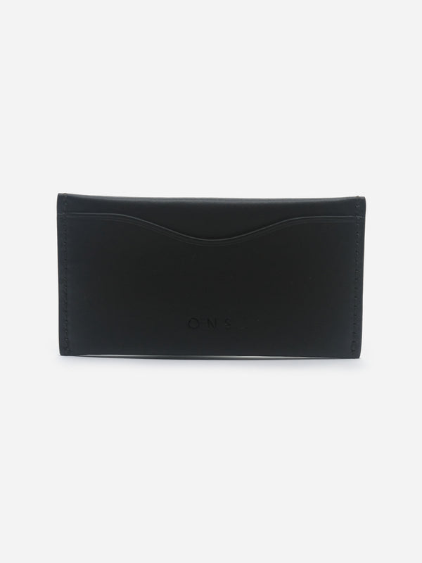 BLACK 3 SLOTS CARDHOLDER ONS WALLETS