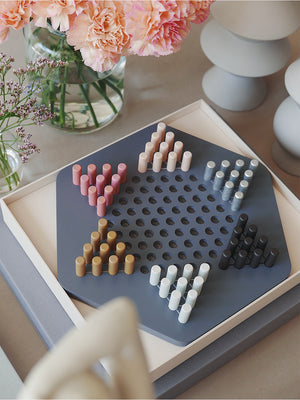 mens ons clothing nyc printworks domino board game chinese checkers MULTI