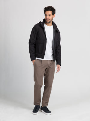 ons garage men's jacket black