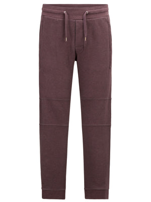 BURGUNDY DOUBLE KNIT JOGGER