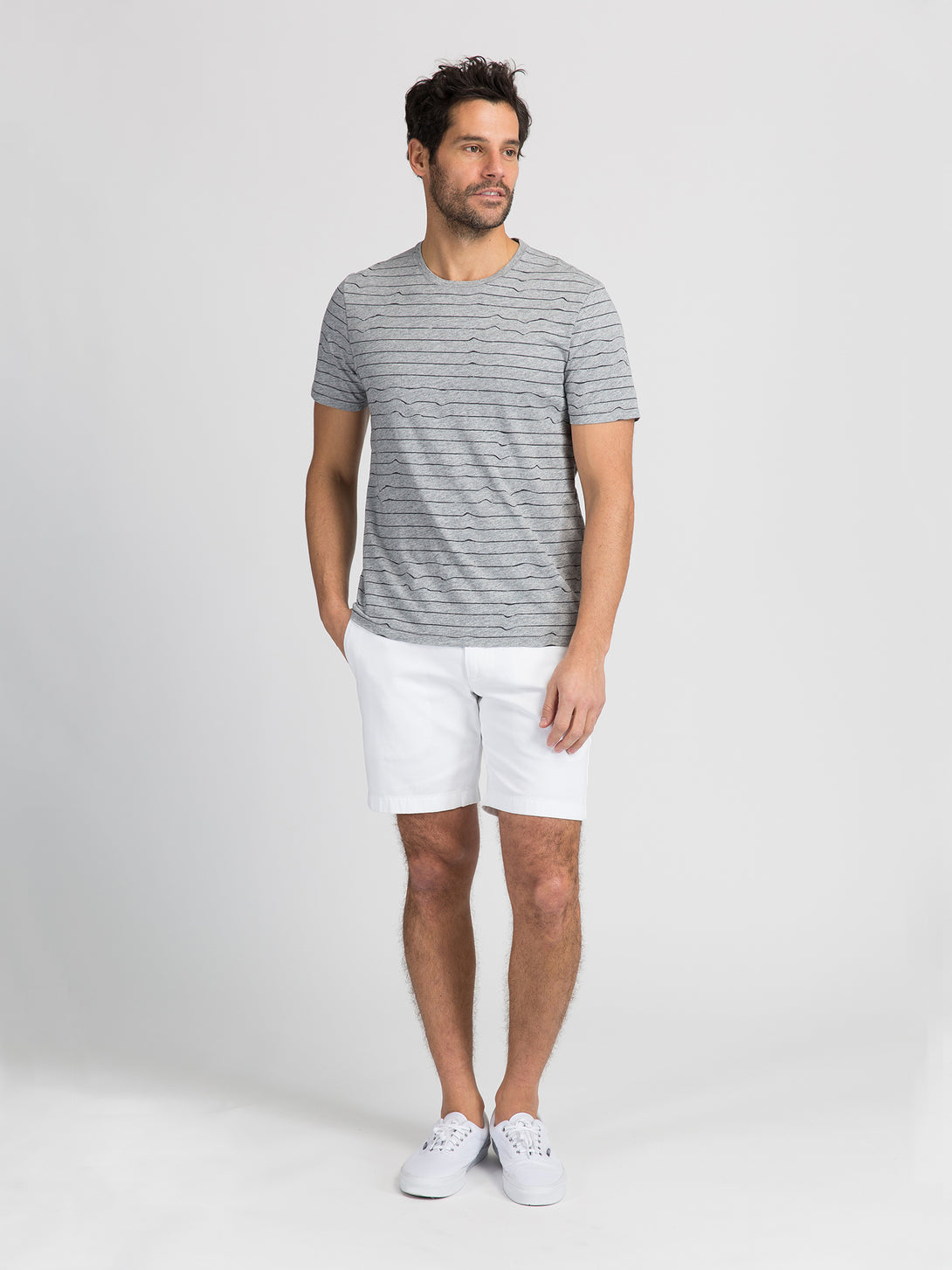 ons garage men's shorts WHITE