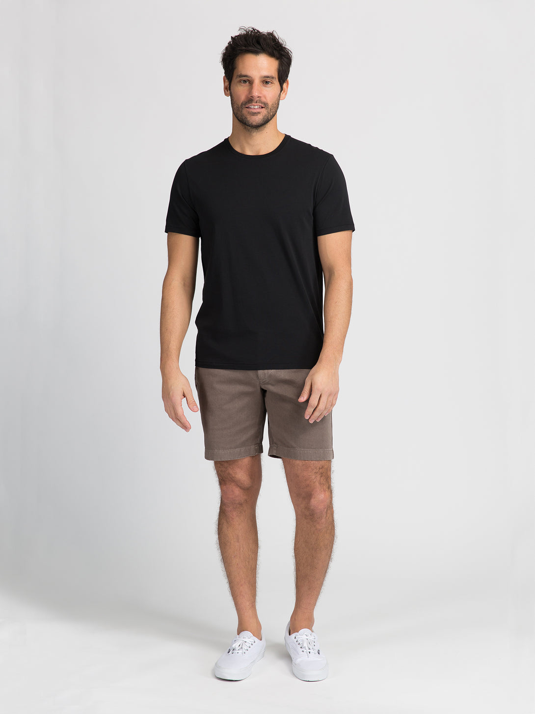 ons garage men's shorts LIGHT BROWN