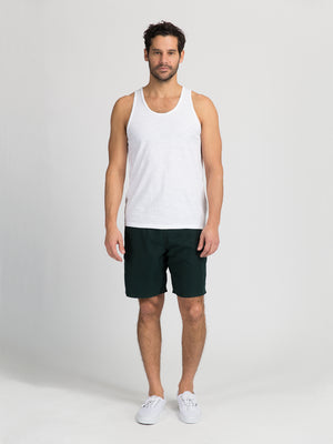 ons garage men's shorts FOREST GREEN