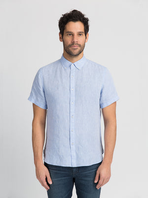 ons garage men's shirt BLUE