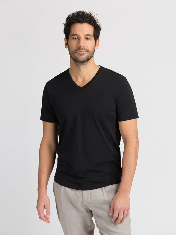ons garage men's tee BLACK