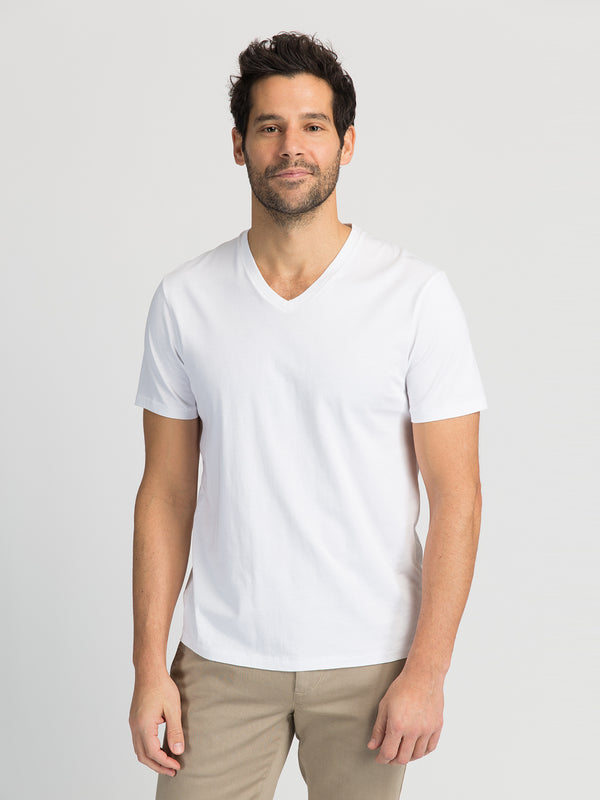 ons garage men's tee WHITE