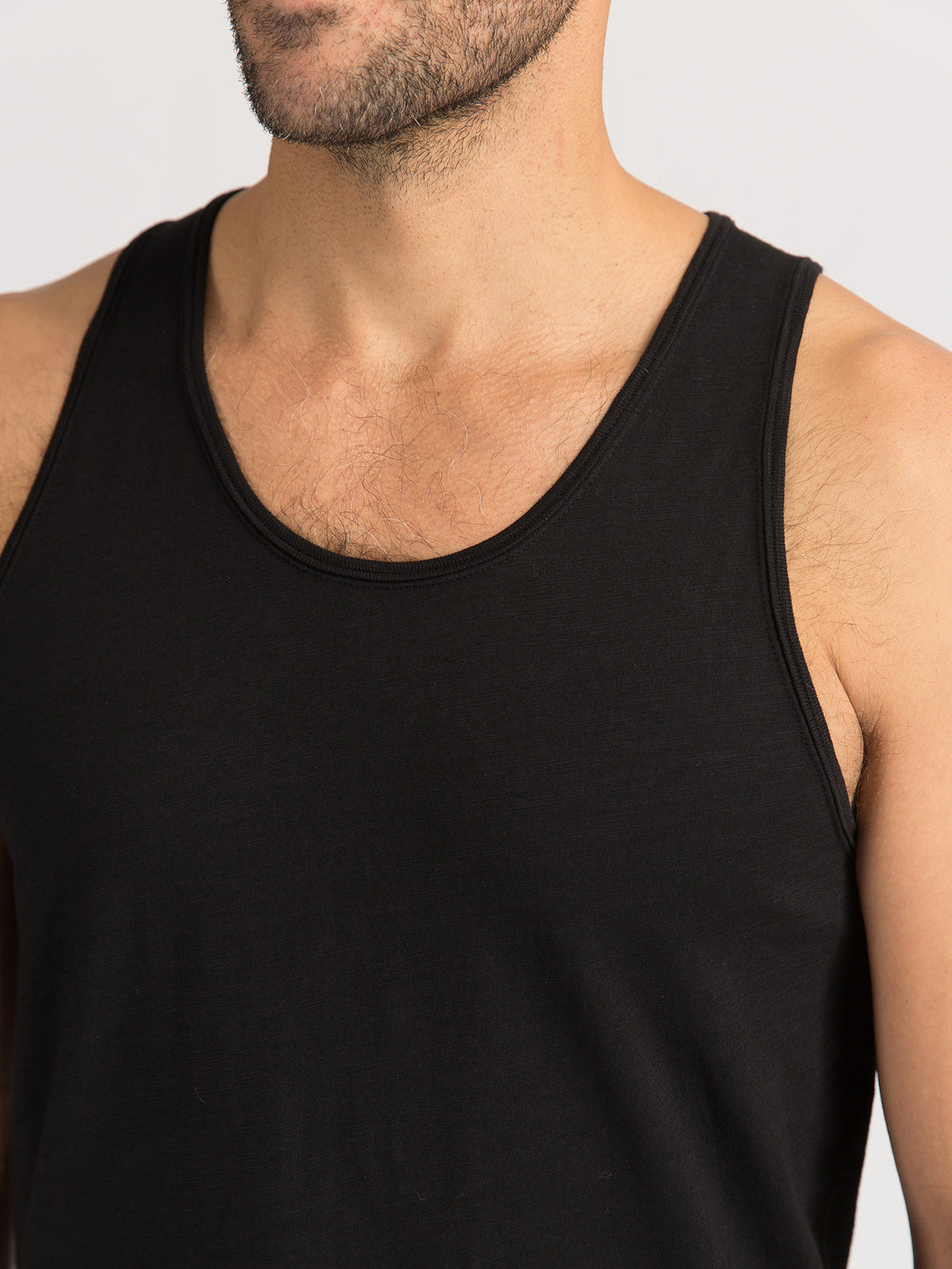 ons men's garage tank tee JET BLACK