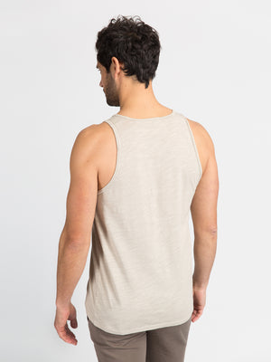 ons men's garage tank tee SAND