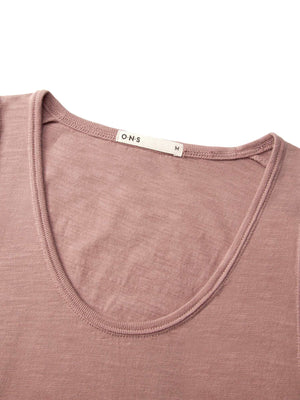 ons men's garage tank tee MAUVE