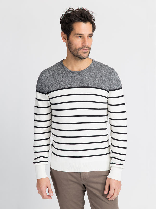 ons garage men's sweater BLACK